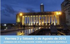 Jornada de Actualización sobre la Lengua Española 2013